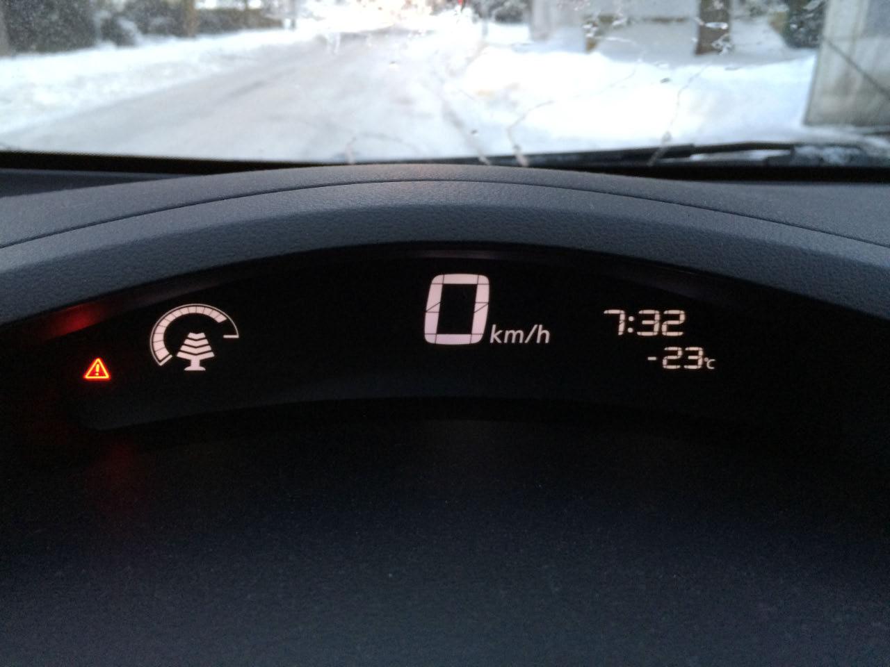 Autonomie voiture electrique Nissan LEAF hiver