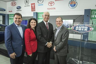 Un premier établissement automobile entièrement voué à la vente de véhicules électriques et hybrides d'occasion au Canada