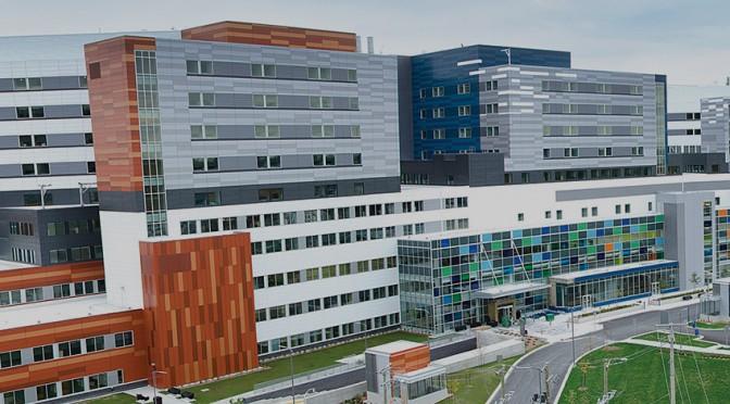 Le site Glen du Centre universitaire de santé McGill : Premier hôpital au Québec à recevoir la certification LEED Or