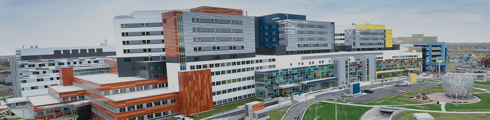 Le site Glen du Centre universitaire de santé McGill ...