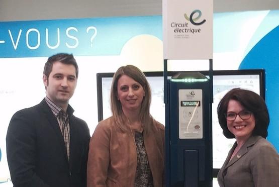 Le fournisseur québécois AddÉnergie remporte l'appel d'offres de 1 500 bornes à 240 V pour le Circuit électrique