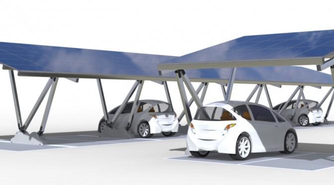 """Renewz® lance sa nouvelle plateforme abris d'autos à l'énergie solaire """"iSun"""""""