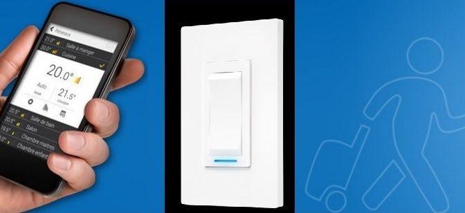 Sinopé – après les thermostats, un interrupteur WEB