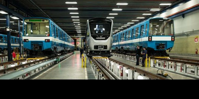 Un nouveau train AZUR en service suite à la conclusion de la période de tests.