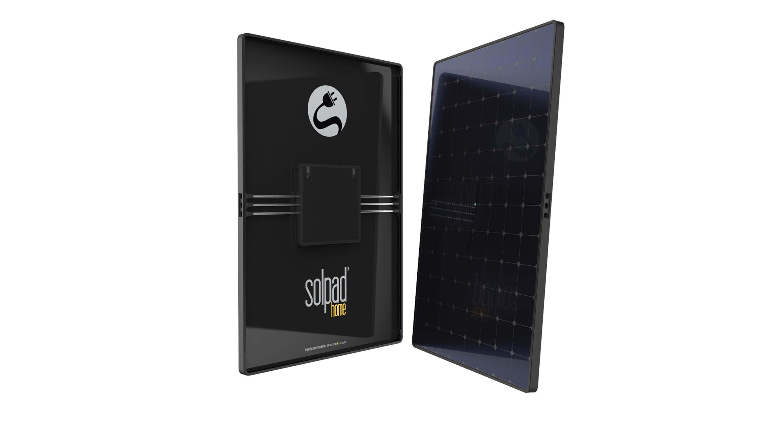 Panneau solaire réseau SolarPad Home