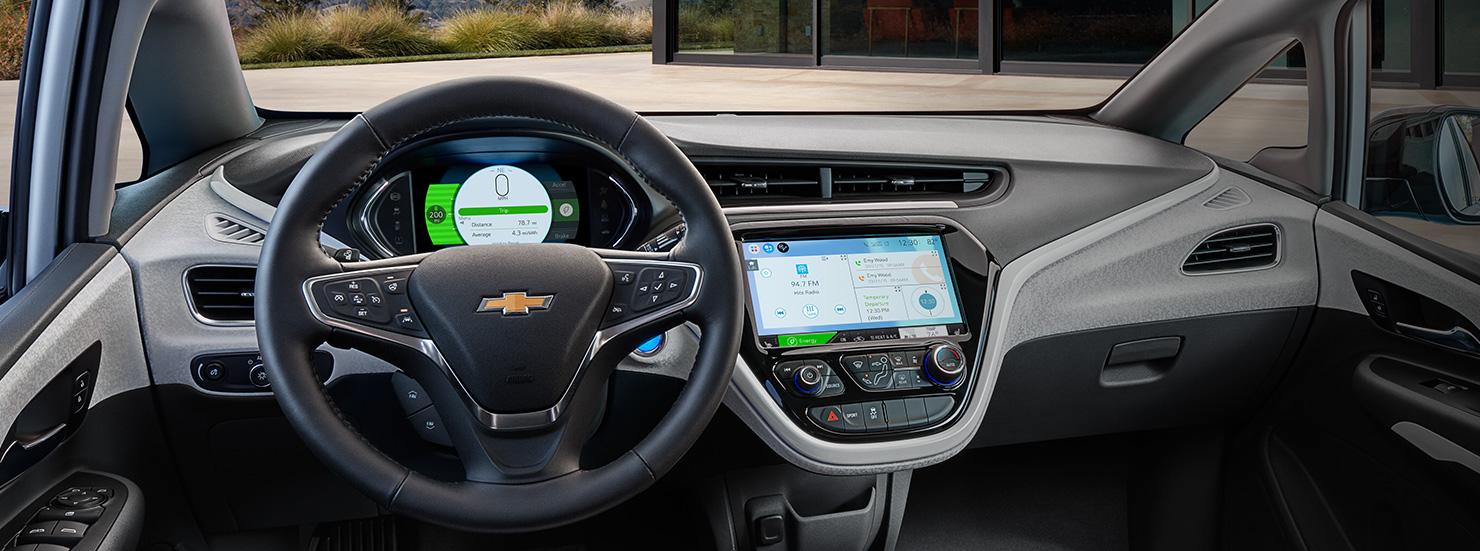 Tableau de bord Chevrolet Bolt