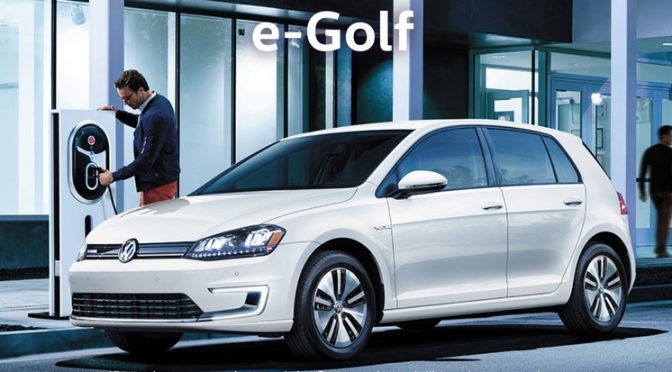 L'e-Golf de Volkswagen sera commercialisée au Canada en 2017