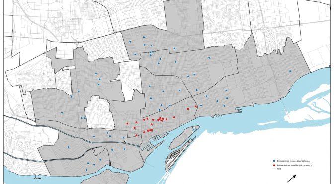 Montréal: implantation de 100 bornes de recharge sur rue pour les véhicules électriques.