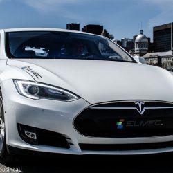 Tesla Modele S d'Elmec