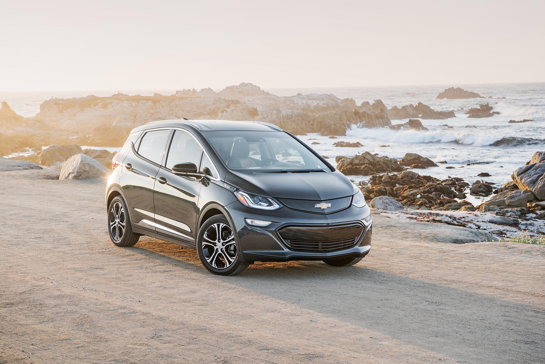 Chevrolet Bolt - voiture verte 2017