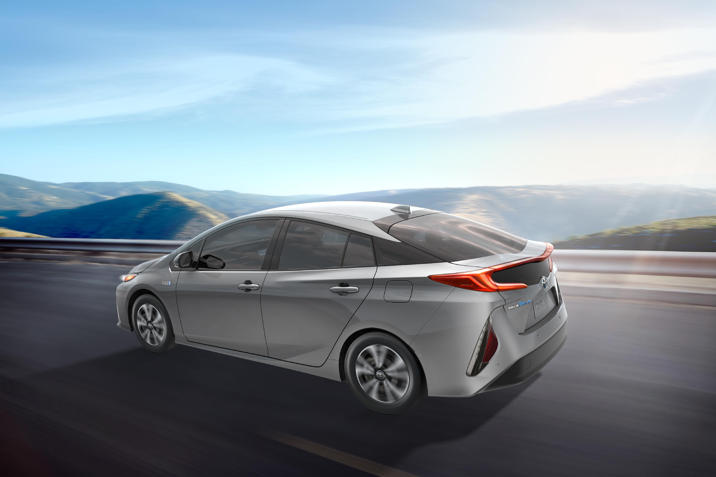 Toyota Prius Prime - voiture verte année 2017