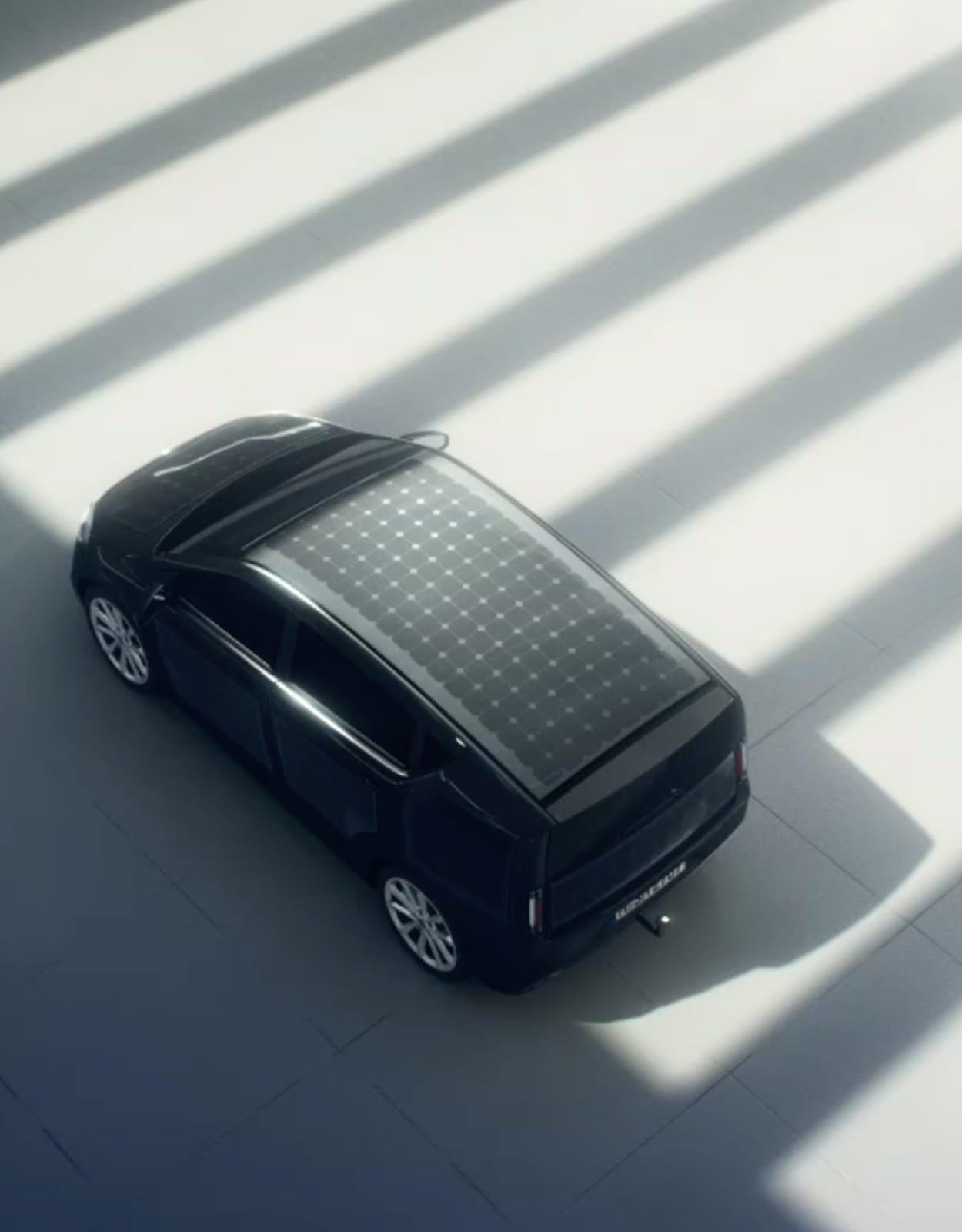 oiture panneaux solaires voiture Sono