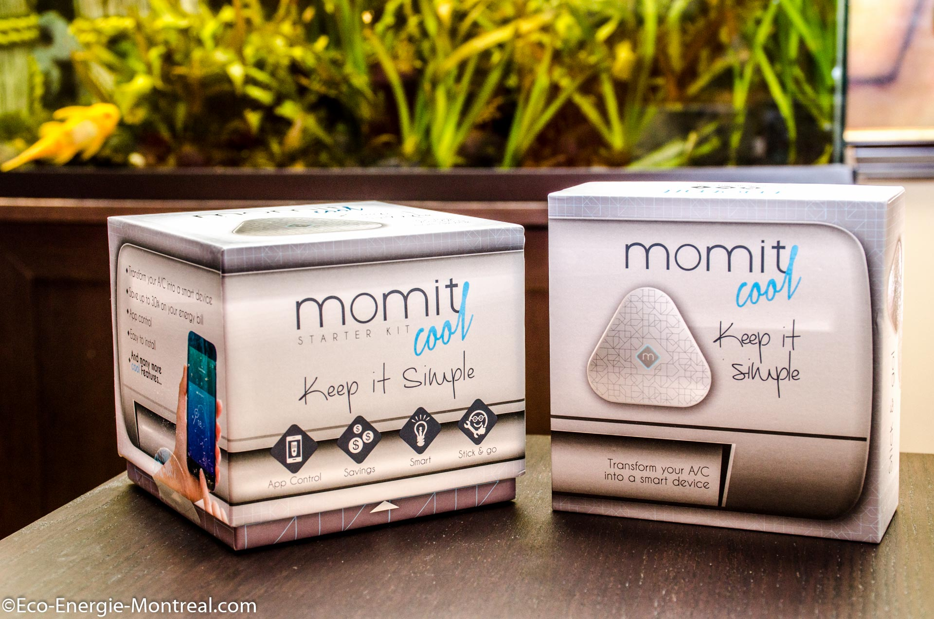 Momit Cool - application web internet pour climatiseur et thermopompe