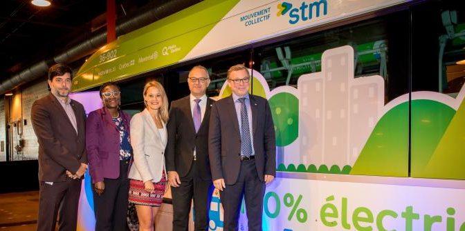 Électrification : la STM accélère le pas et achètera 40 bus électriques
