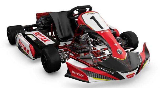 BRP lance un moteur de kart électrique