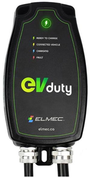 Borne de recharge voiture electrique EVDuty