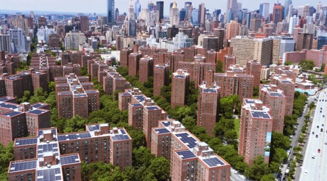 Projet solaire residentiel Stuytown