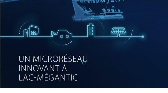 Les solutions énergétiques de l'avenir dans le nouveau centre-ville de Lac-Mégantic