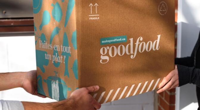 Marché GoodFood réutilisera ses boîtes d'emballage et ses sacs réfrigérants