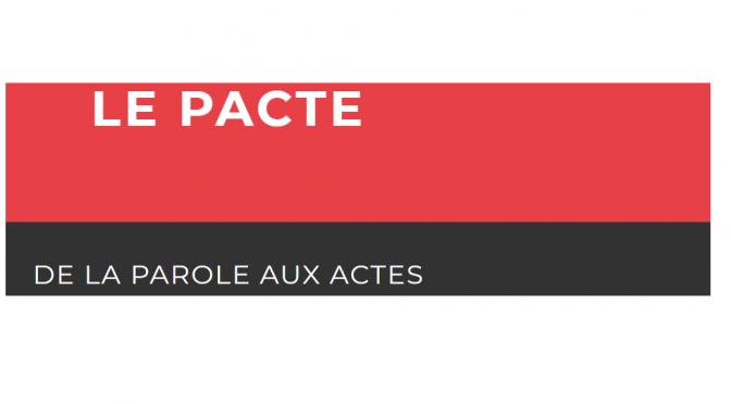 Logo pacte transition energetique