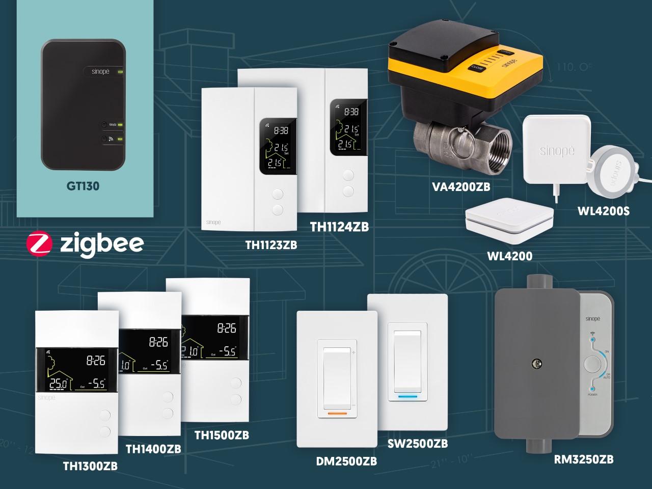 Les produits de domotiques pour maison intelligente passe au Zigbee