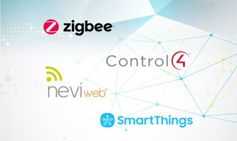 Passerelles supportées par Sinope - Zigbee - Control4 - Neviweb - SmartThings