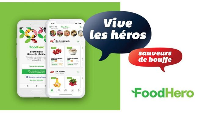 IGA gaspillage aliment perime Foodhero