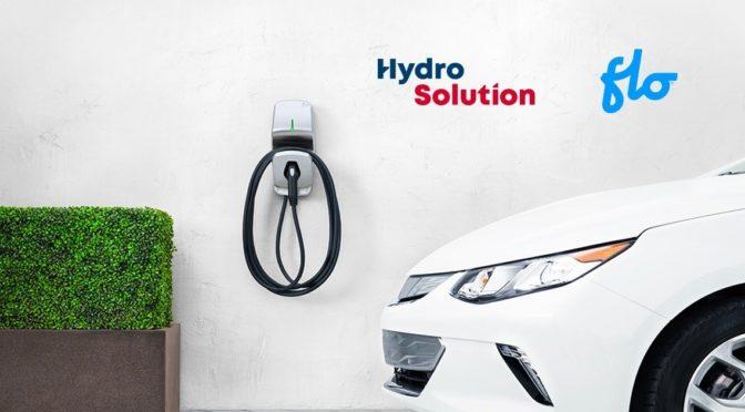 HydroSolution offre maintenant des bornes pour voitures électriques !