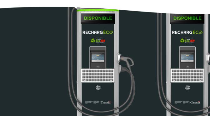 Bornes de recharge RechargEco