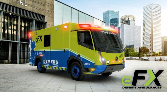L'ambulance 100% électrique voit le jour au Québec
