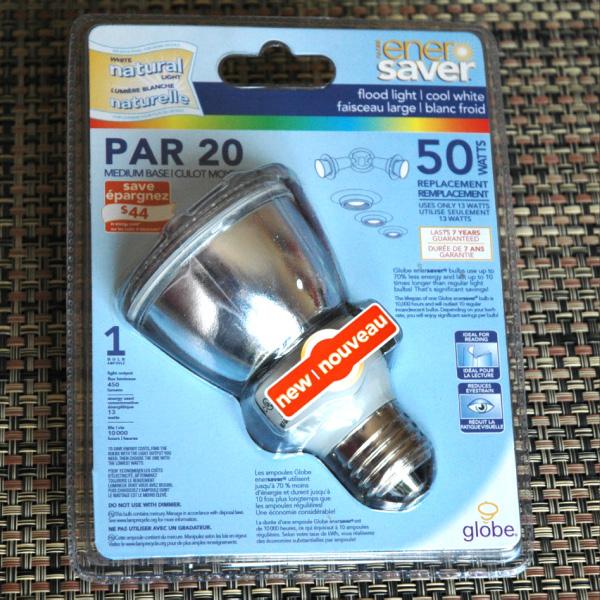 PAR20 fluo-compacte