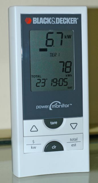 Black and Decker Power Monitor