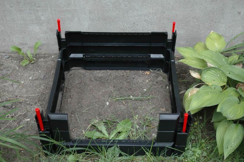 Assemblage Composteur Garden Gourmet