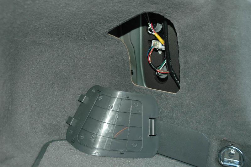 Filage coffre Toyota Prius 2007
