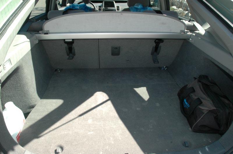 Coffre Toyota Prius