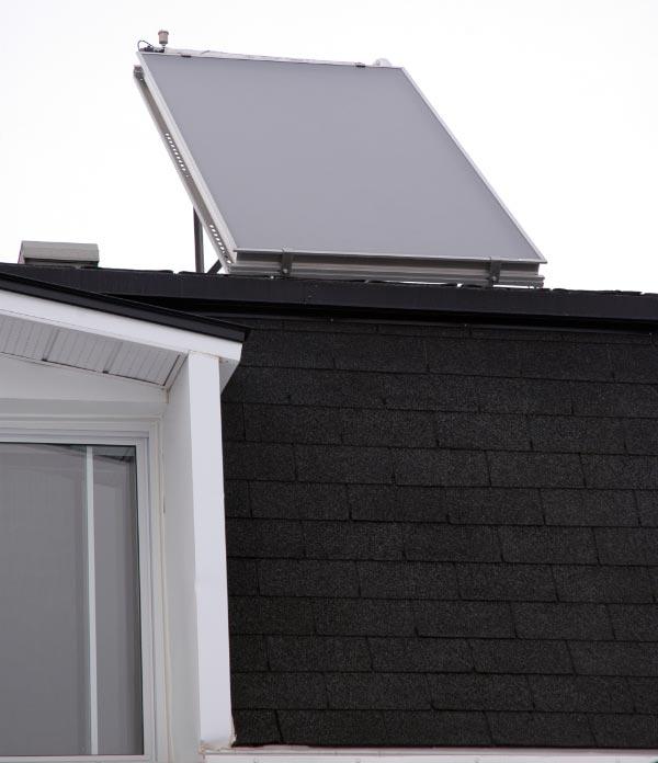Panneau solaire chauffe-eau Quebec Montreal