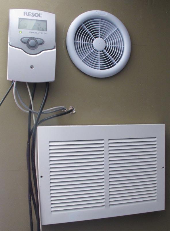 Panneau solaire chauffe air chaud MC2 energie Quebec Montreal
