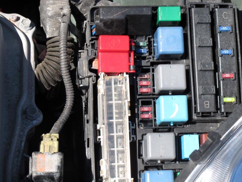Boite fusible Toyota Prius