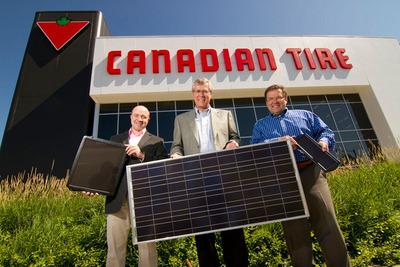 Canadian Tire - panneau solaire