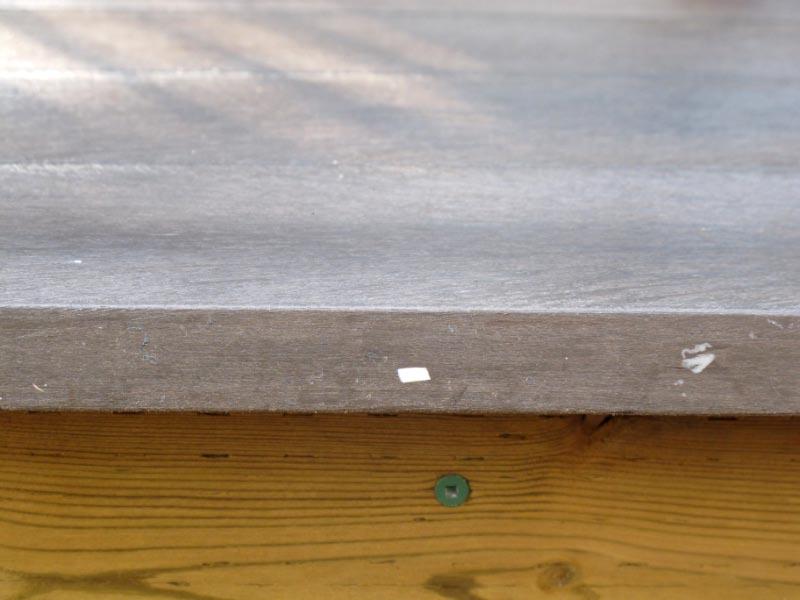 Planches plastiques recyclées Cascades Perma-Deck Avantage