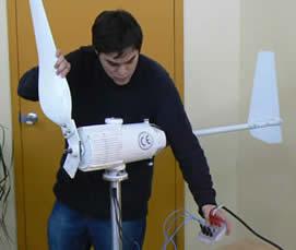 Éolienne pour l'enseignement