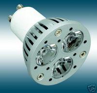 GU10 à 3 LED