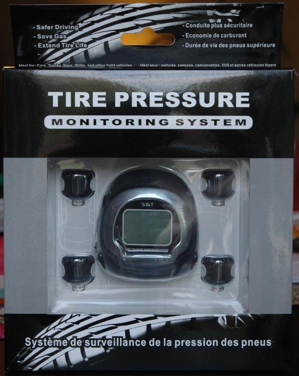 Moniteur pression pneu - économie d'essence