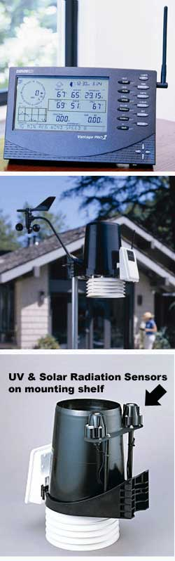 Station météo amateure Davis Vantage Pro Plus 6163