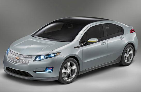 Chevrolet Volt - Voiture électrique à prolongation d'autonomie